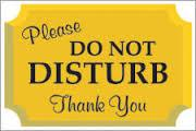 Do Not Disturb Managing Time