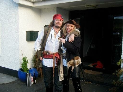Michael and Edel MacGinty Pirates