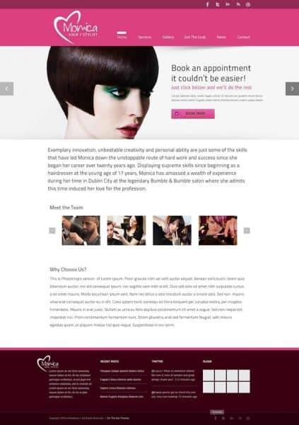 Hairdressers_website_design