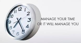 manage your time tips