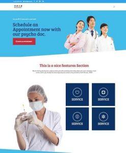 Medical practice website design