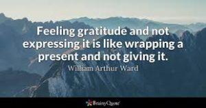 Thanks Brainy Quote with Gratitude