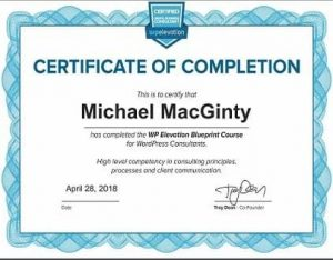 WP Elevation Certificate WordPress Digital Business Consultant