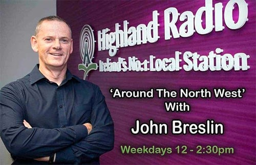 Interview on Highland Radio about Donegal Business Network