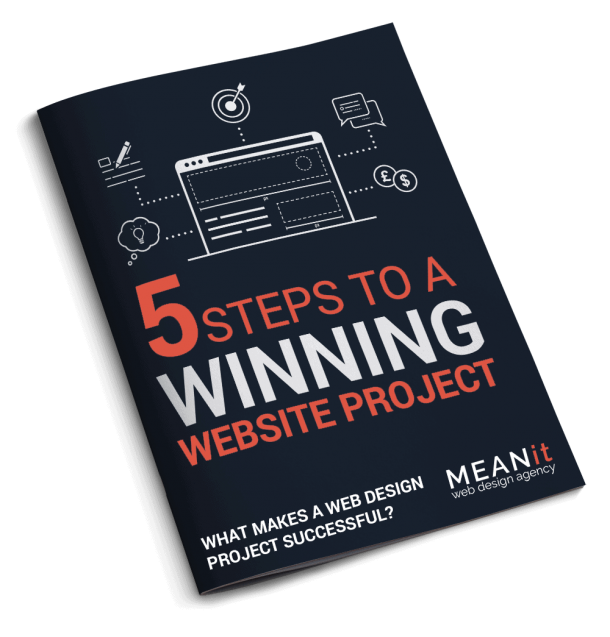 5 Steps To A Winning Website Project eBook