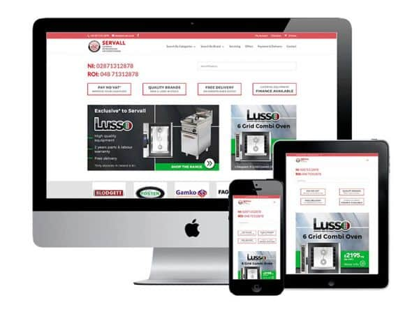 Eye on Donegal eCommerce website design