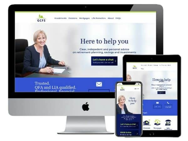 GCFS Financial Services Website Kildare