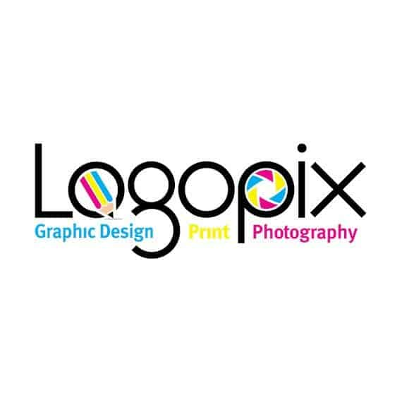 logopix graphic design and creative photography